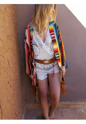 Combi short crochet Miss June